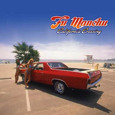 "Fu Manchu-""California Crossing"" Deluxe Triple Color Vinyl With A Gatefold Sleeve."
