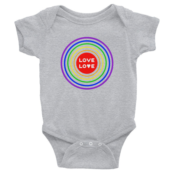 Gender Neutral Love Love Onesie  - Gender Bender Kids