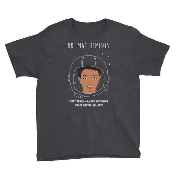 Gender Neutral Mae Jemison Tee  - Gender Bender Kids