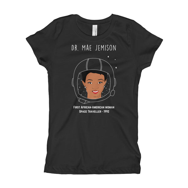 Gender Neutral Mae Jemison Slim Fit Tee  - Gender Bender Kids