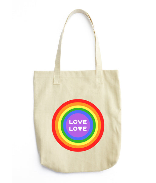 Gender Neutral Love Love Tote  - Gender Bender Kids