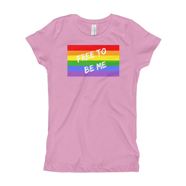 Gender Neutral Free To Be Me Slim Fit Tee  - Gender Bender Kids