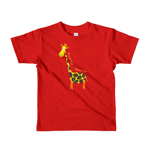 Gender Neutral Stand Tall, Stand Out Tee  - Gender Bender Kids