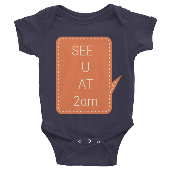 Gender Neutral 2AM Baby Onesie  - Gender Bender Kids