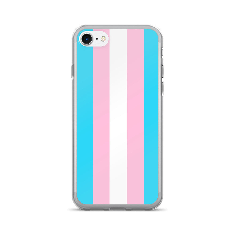 Gender Neutral Trans Flag iPhone 7/7 Plus Case  - Gender Bender Kids