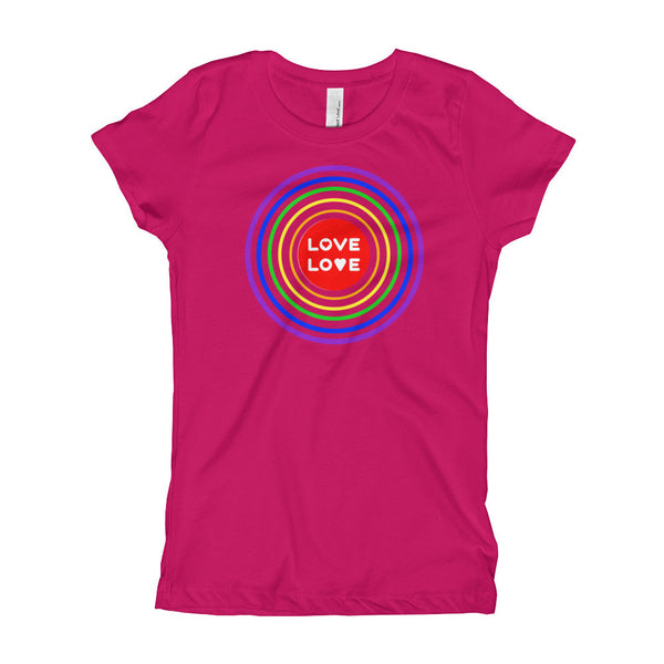Gender Neutral Love Love Slim Fit Tee  - Gender Bender Kids