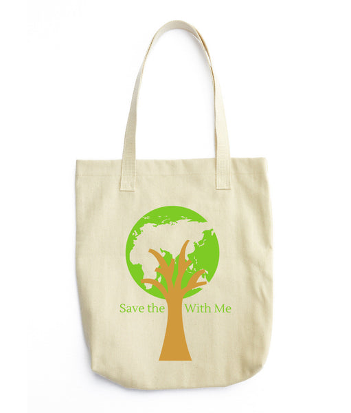 Gender Neutral Save The Planet With Me Tote  - Gender Bender Kids