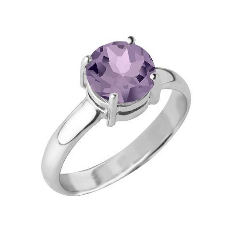 Reine Gemstone Ring, Amethyst
