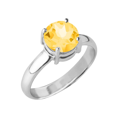 Reine Gemstone Ring, Citrine