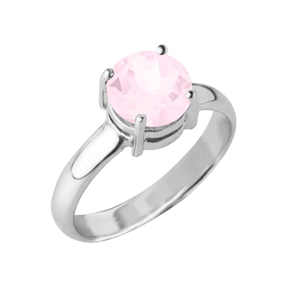 Reine Gemstone Ring, Rose Quartz