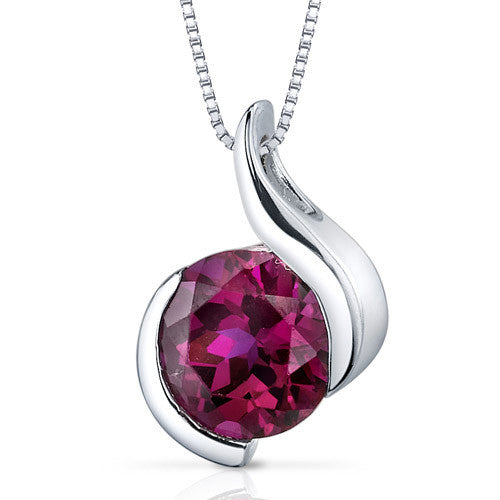 Luxurious Gemstone Pendant, Ruby