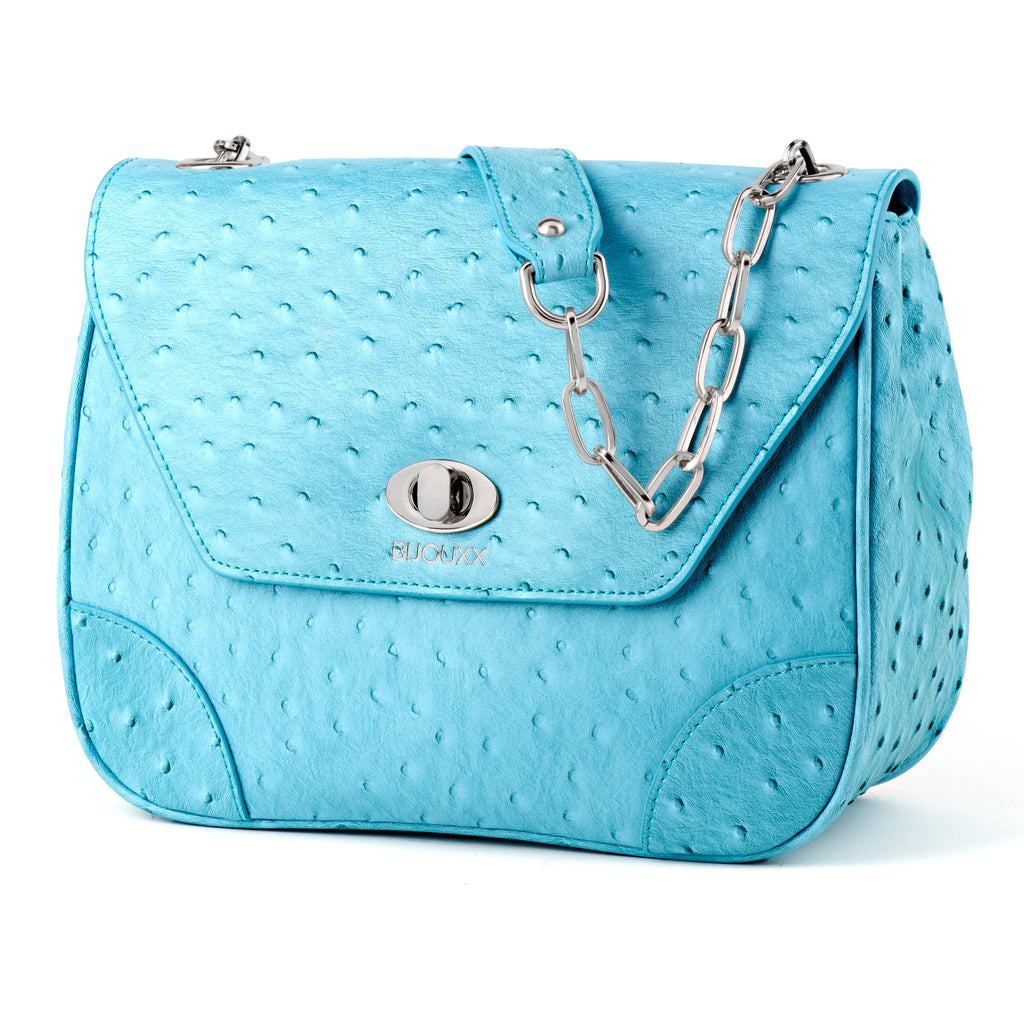 Everyday Leather Bag, Teal