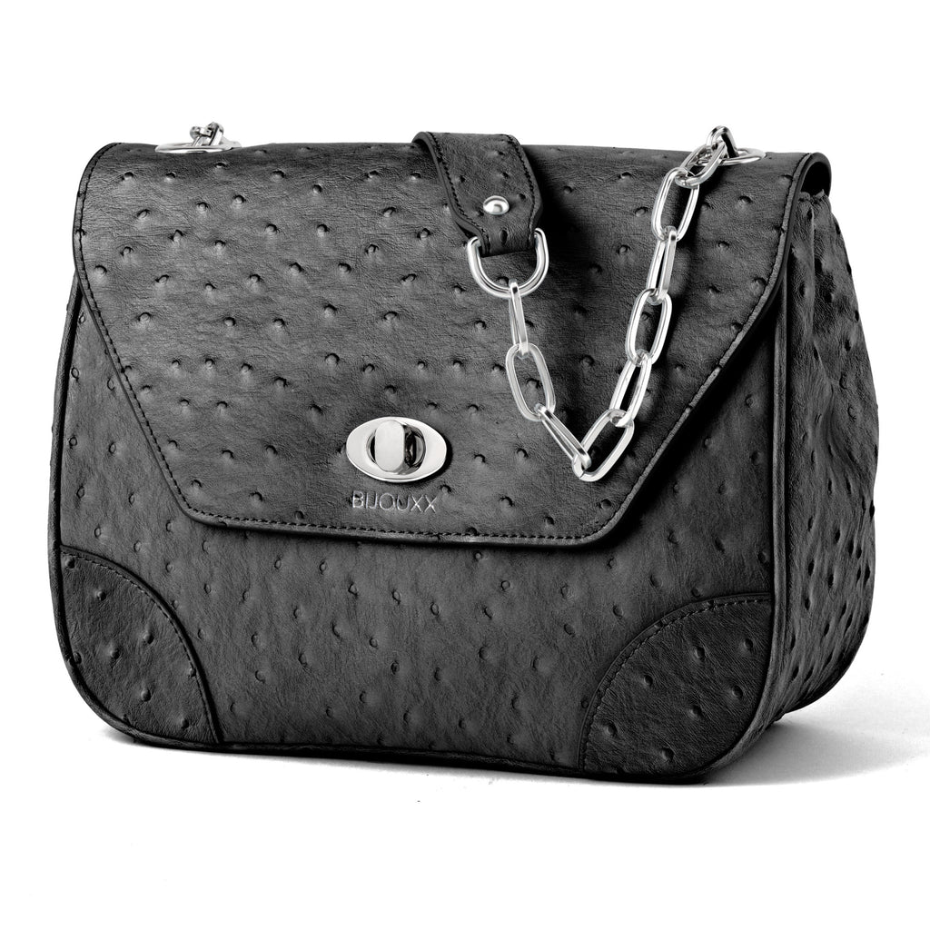 Everyday Leather Bag, Black