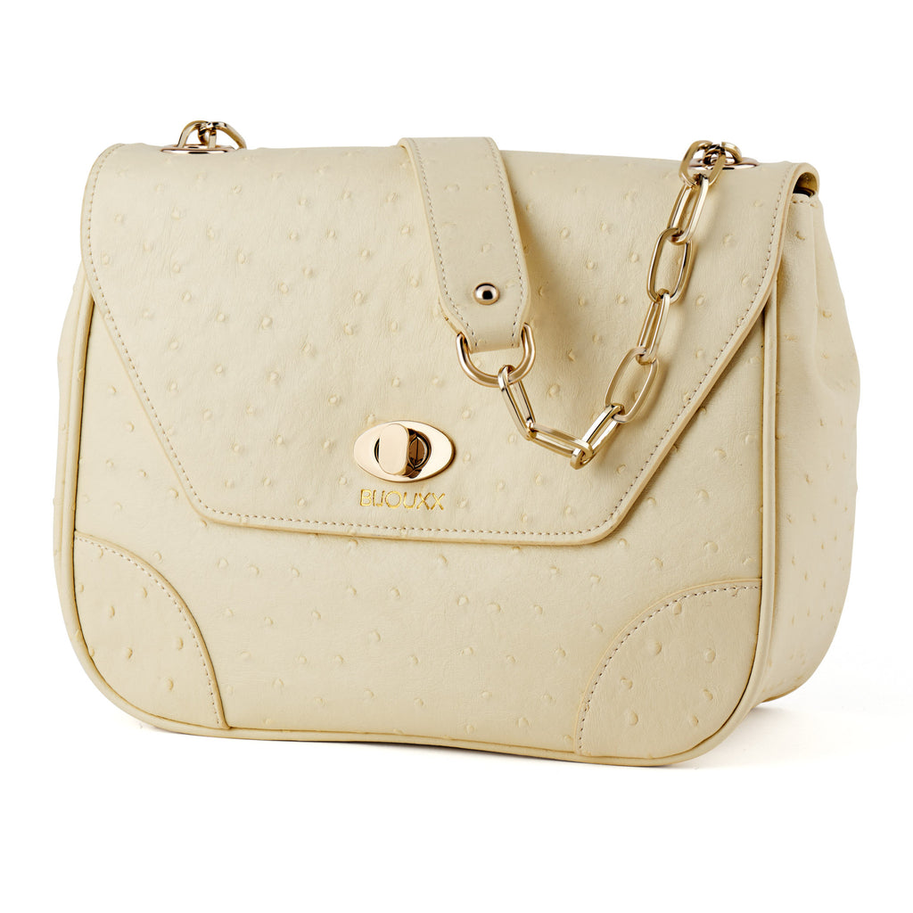 Everyday Leather Bag, Beige