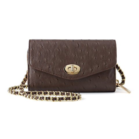 Bijouxx Brown Crossbody Bag