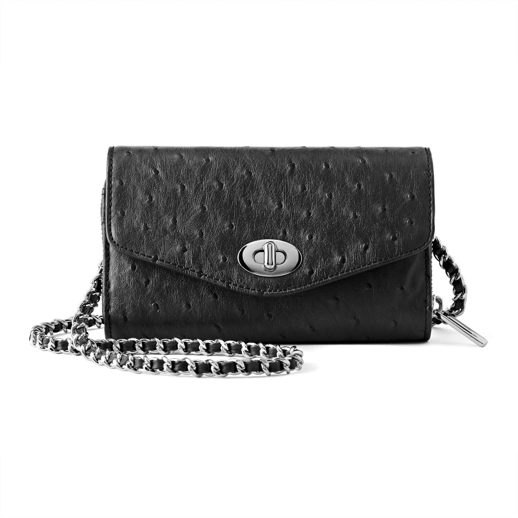 Bijouxx Black Crossbody Bag