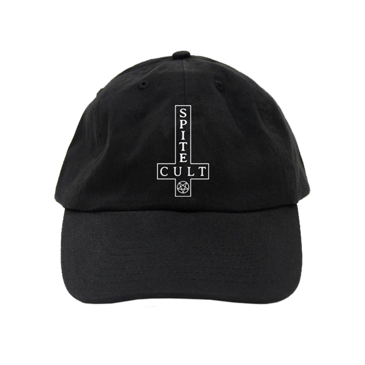 SPITE - Cult Cross Black Dad Hat