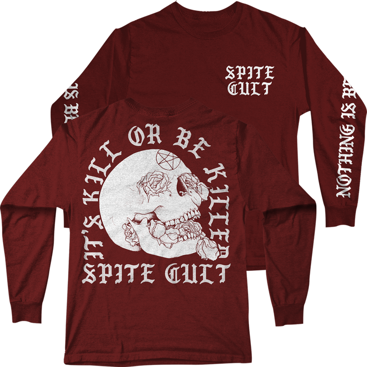SPITE - SPITE Cult Maroon Long Sleeve