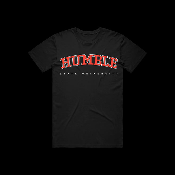 Humble University - HSU Black Tee