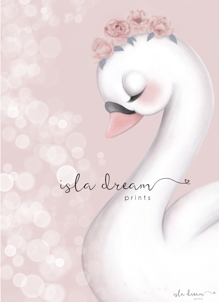 angel-swan-print-isla-dreams-faith-laine-childrens-decor