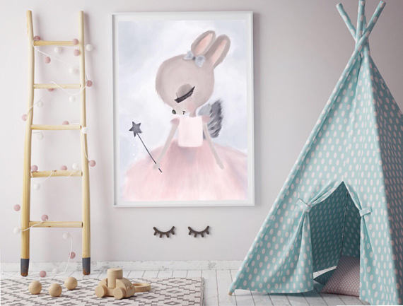 mia-bunny-print-my-hidden-forest-childrens-decor-faith-laine