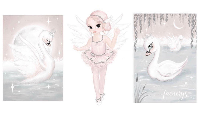 odette-swan-lake-print-faenerys-kids-print-faith-laine-childrens-decor