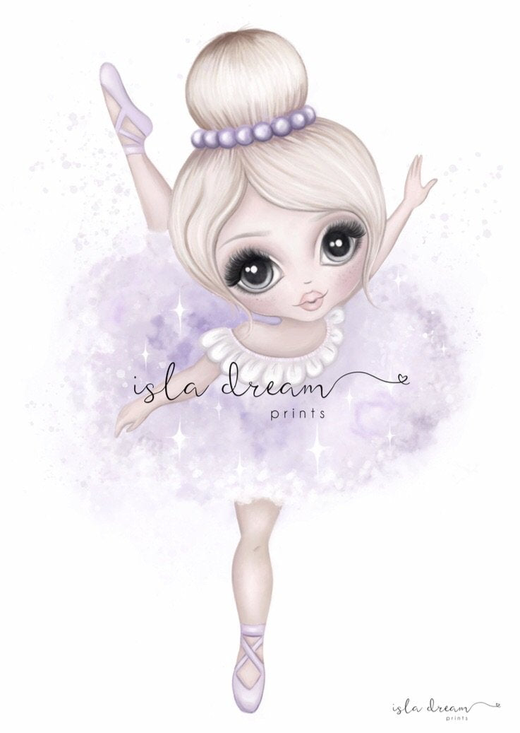 bella-ballerina-lilac-print-isla-dreams-childrens-prints-faith-laine