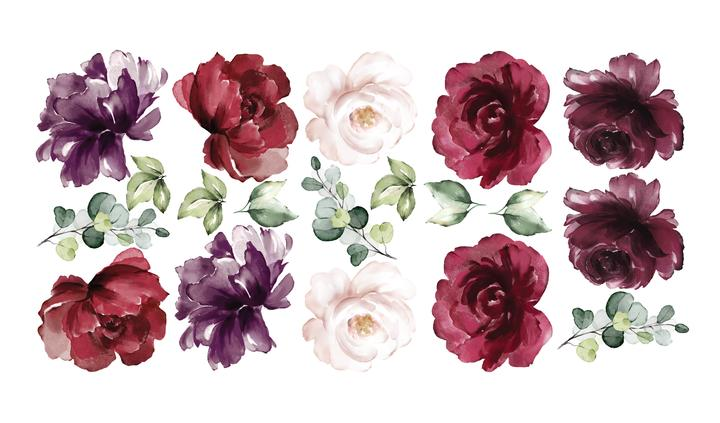burgundy-peony-rose-removable-wall-decals-ginger-monkey-childrens-decor-faith-laine