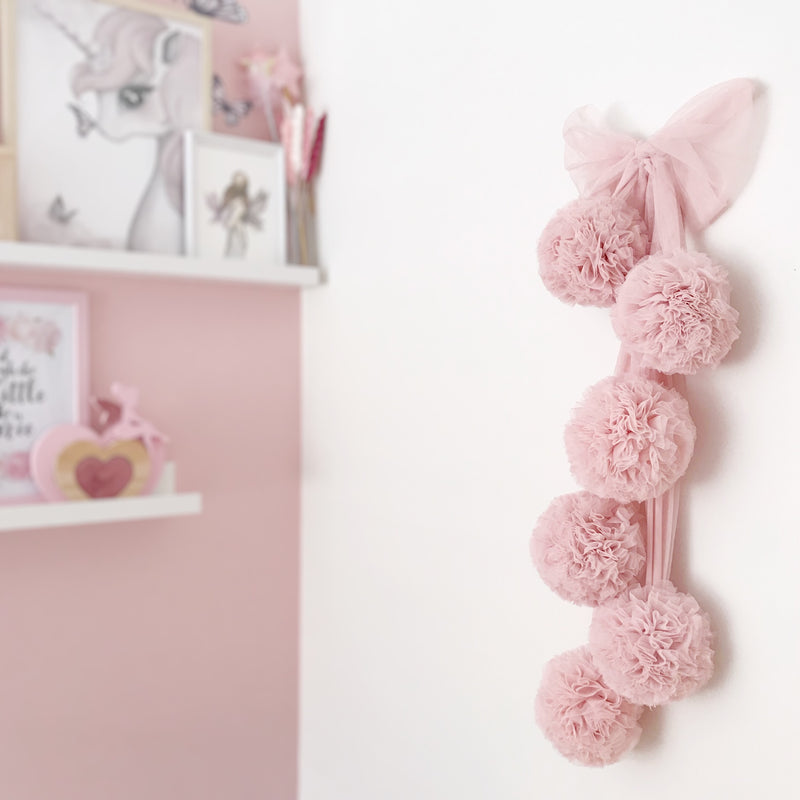 Spinkie Pom Garland - Blush
