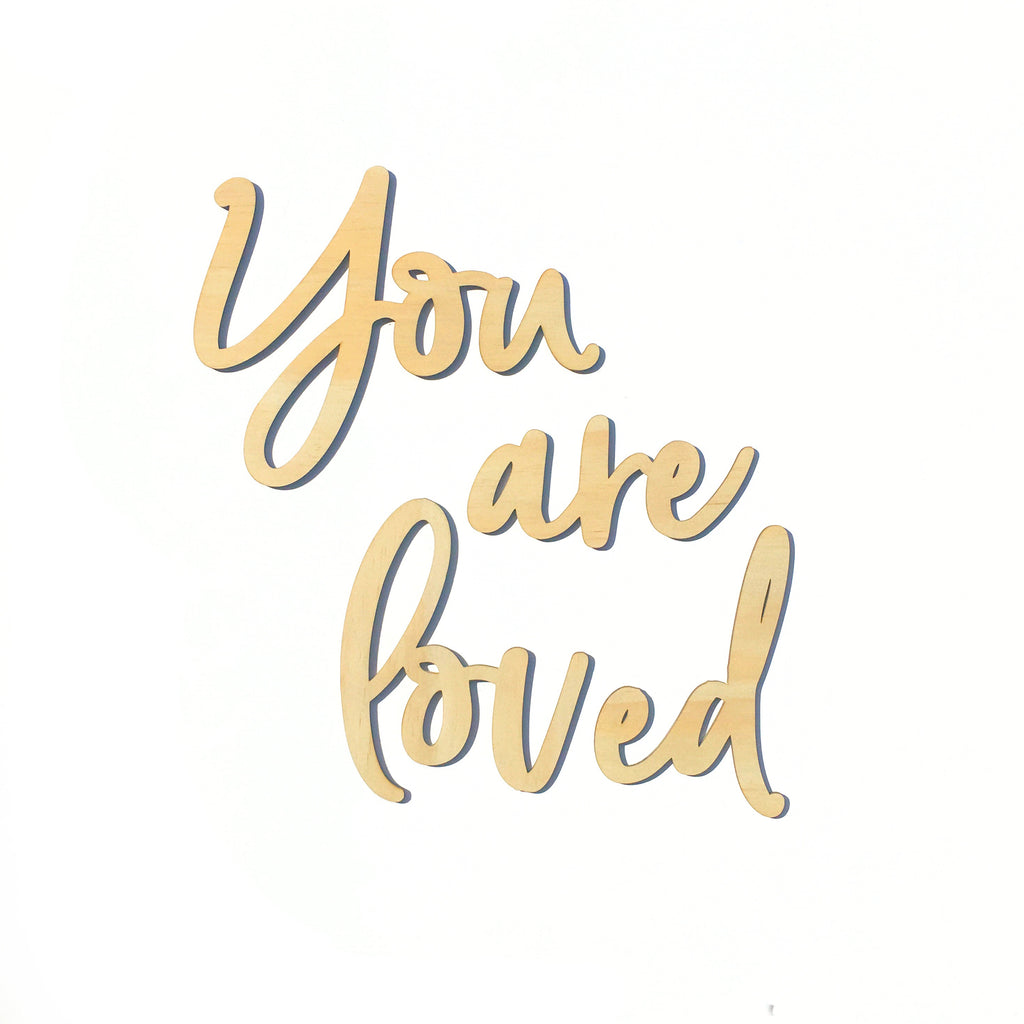Your Are Loved Wall Plaque