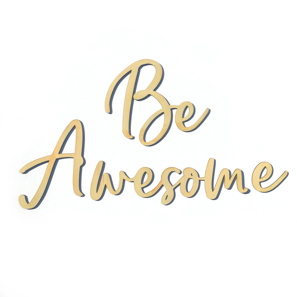 Be Awesome Script