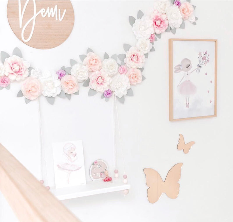 Butterfly Mirror Set
