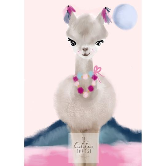 lola-llama-print-my-hidden-forest-kids-print-faith-laine.jpg