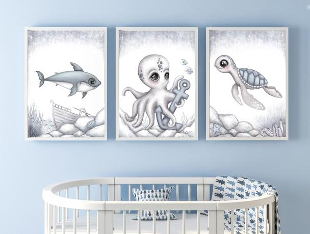 ollie-octopus-print-isla-dream-prints-boys-nursery-art-faith-laine