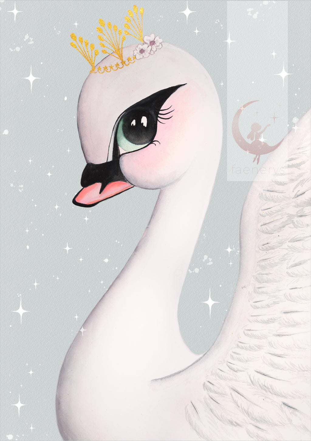 odette-swan-print-faenerys-kids-print-faith-laine-childrens-decor