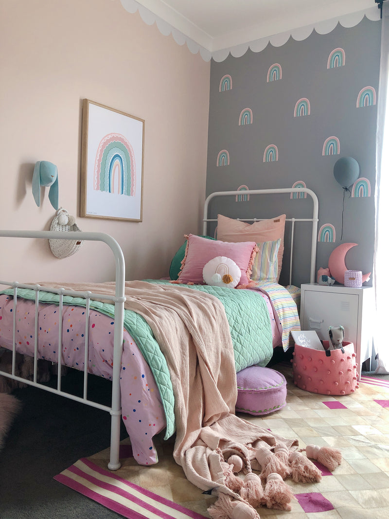 rainbow-pink-print-sailah-lane-nursery-print-faith-laine