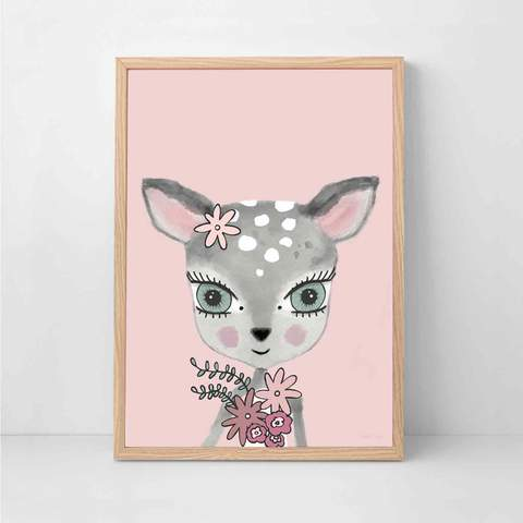 sailee-deer-pink-print-sailah-lane-kidsart-faith-laine