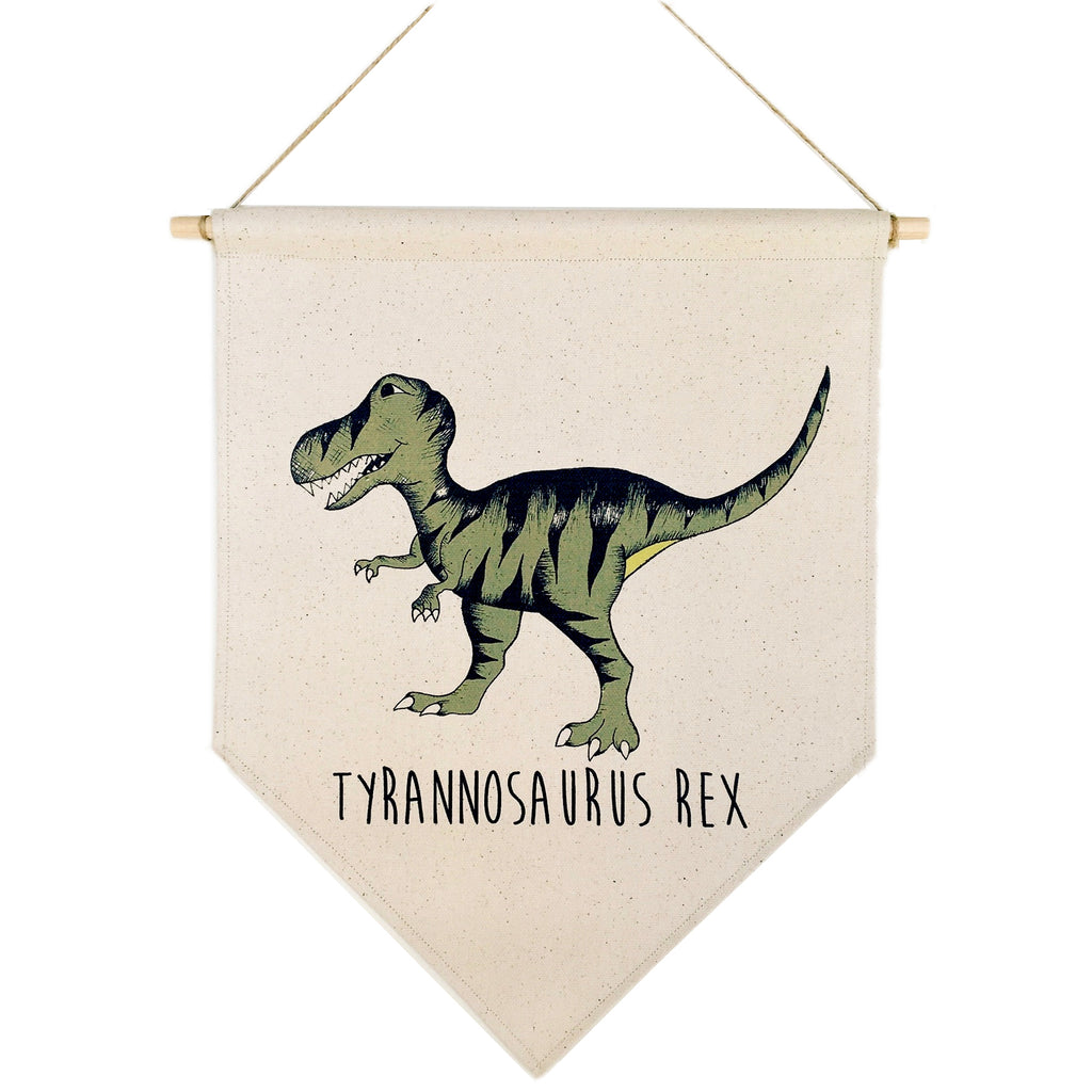 T-Rex Canvas Banner