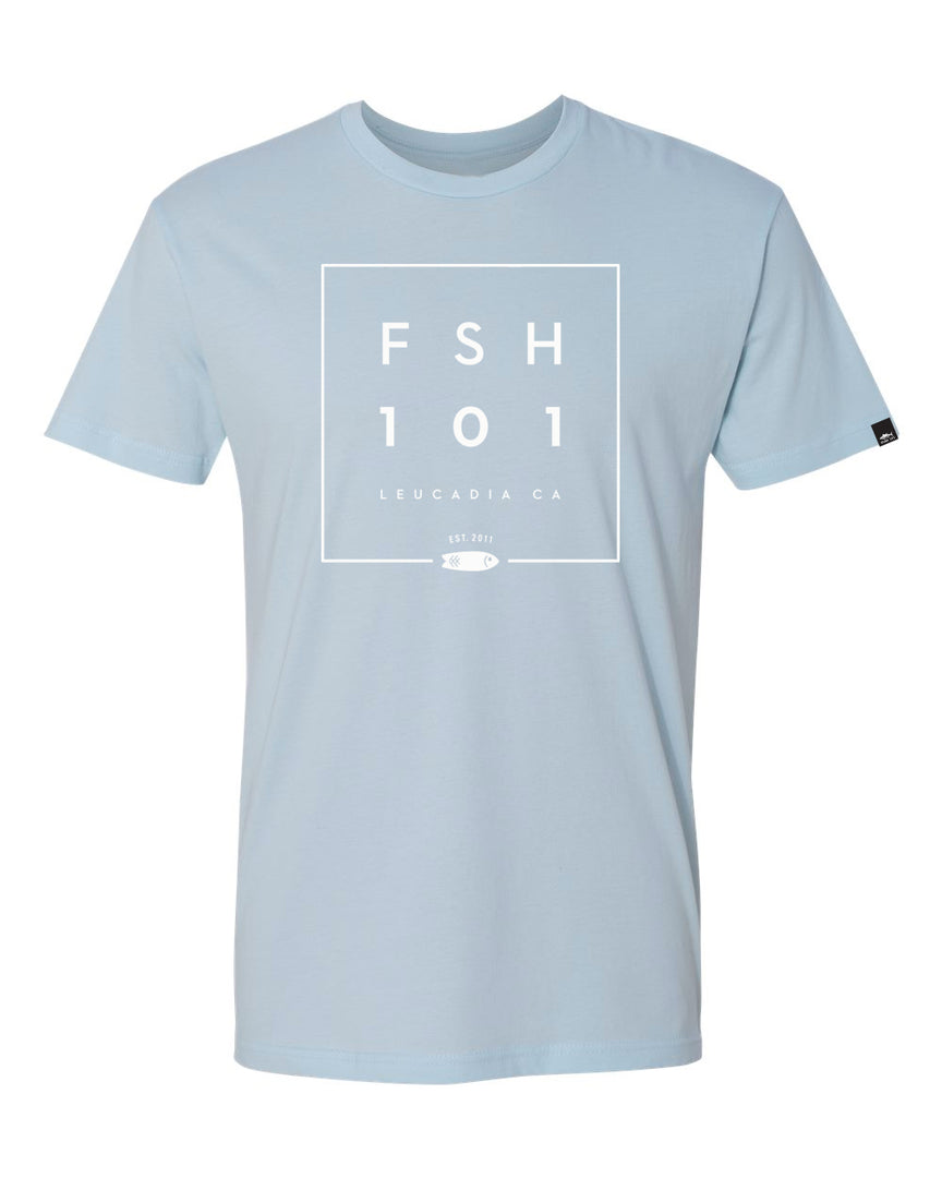 Box Tee Light Blue