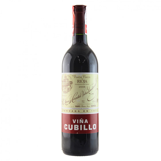 Lopez de Heredia 'Cubillo' Crianza 2010, Rioja, Spain