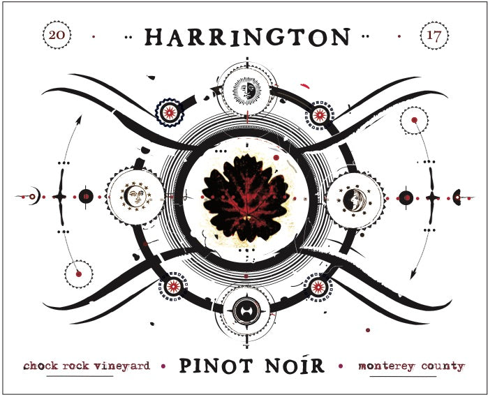 Harrington 'Chock Rock Vineyard' Pinot Noir 2017,   Monterey County, California