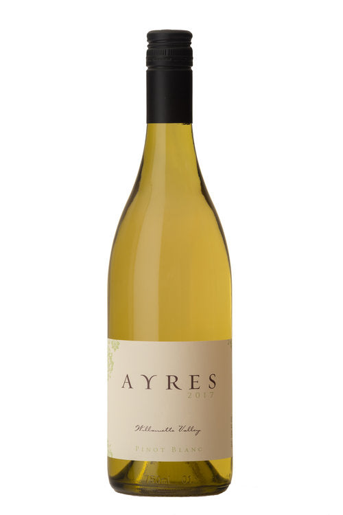 Ayres  Pinot Blanc 2017, Willamette Valley, Oregon