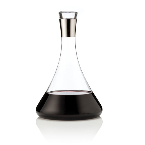 Raye Chrome Decanter