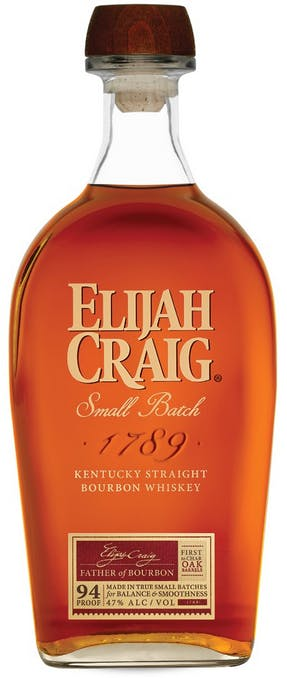 Elijah Craig Small Batch Straight Bourbon Whiskey  - 375ml