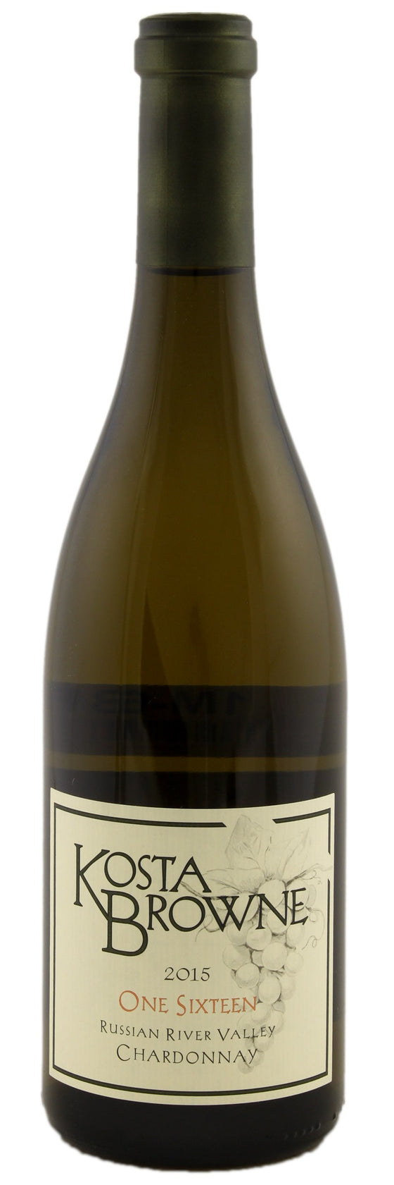 Kosta Browne 'One Sixteen' Chardonnay 2015, Russian River Valley, California