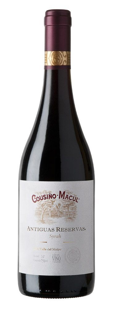 Cousiño-Macul Syrah 2014, Central Valley, Chile