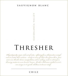 Thresher Sauvignon Blanc 2019, Central Valley, Chile