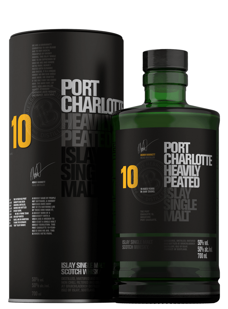 Port Charlotte 10yr Heavily Peated Islay Single Malt Scotch