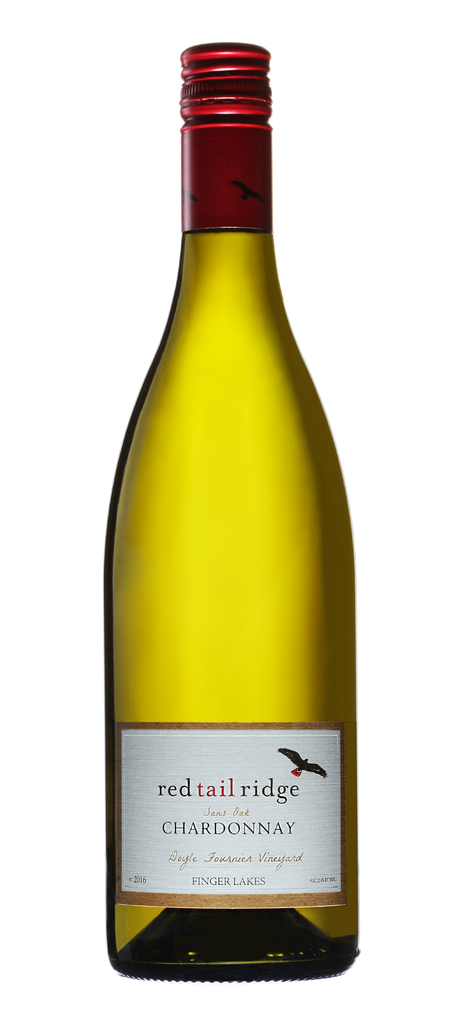 Red Tail Ridge Chardonnay Sans Oak 2017, Finger Lakes, New York
