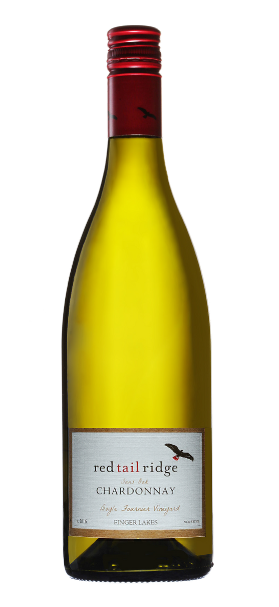 Red Tail Ridge Chardonnay Sans Oak 2018, Finger Lakes, New York